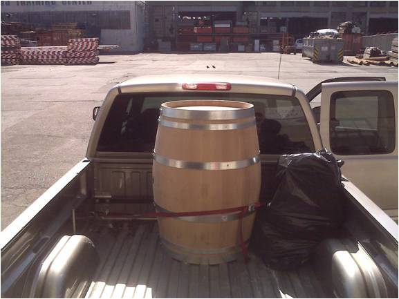 Wine Barrel As Seen on TV