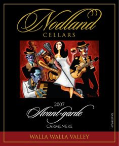 Avant Garde Nodland Cellars