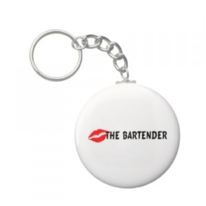 kiss the bartender