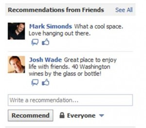 Facebook Recommendations Small