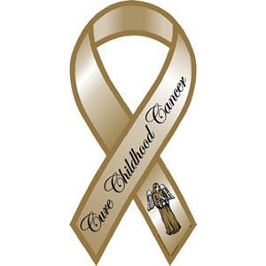 Childhood Cancer Ribbon