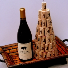Christmas Wine Cork Tree