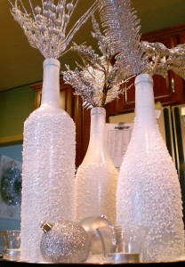 Wine Bottle Christmas Decorations 1