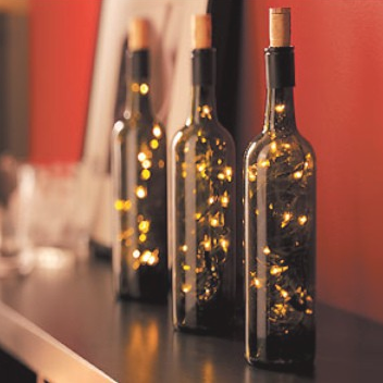wine bottle christmas lights nectar tasting room and