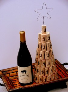 Wine cork christmas tree 2