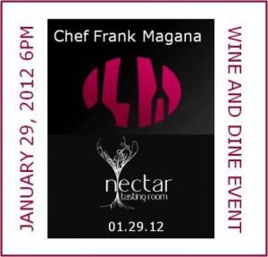 Chef Frank Wine Dinner Square