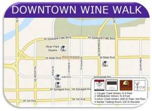 Spokane-Wine-Walk-Map