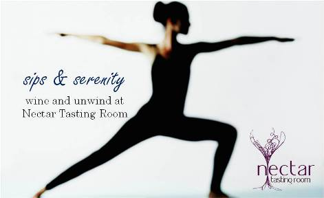 sips and serenity yoga and wine