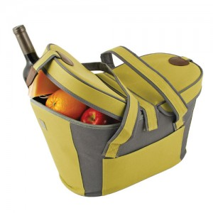 green collapsible carrier