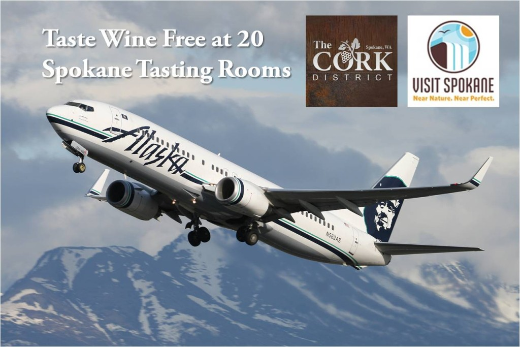 Alaska Airline Spokane Cork District