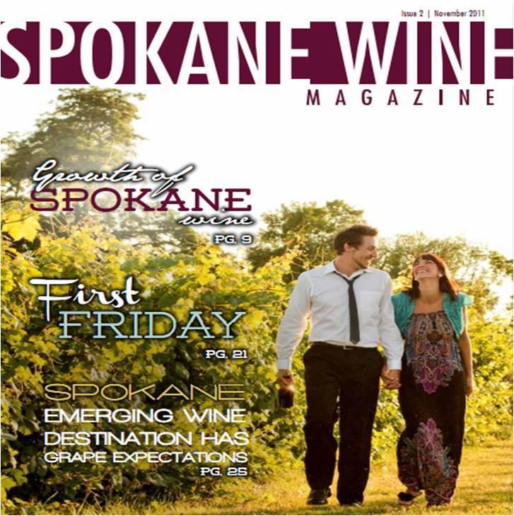 Issue 2 of Spokane Wine Magazine